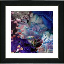 """Royal Carnations"" by Zhee Singer Framed Painting Print"