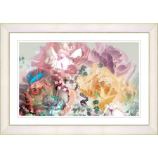 """""""Scented Bloom"""" by Zhee Singer Framed Graphic Art"""