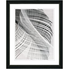"<strong>Studio Works Modern</strong> ""Dancing Feathers"" Framed Fine Art Giclee Print"