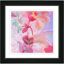 "<strong>Studio Works Modern</strong> ""Flowers of Okavango"" Framed Fine Art Giclee Print"
