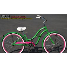 Women's Brisa Alloy 1-Speed Beach Cruiser Bike