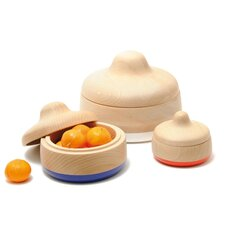 <strong>Y'a Pas Le Feu Au Lac</strong> Matrioshka Nesting Containers (Set of 3)