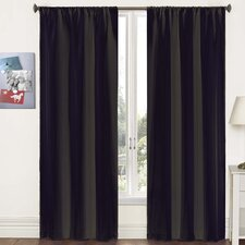 Capella Woven Solid Curtain Panel Pair (Set of 2)