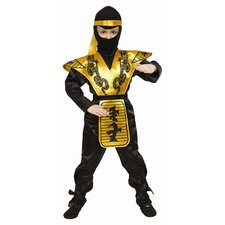 <strong>Dress Up America</strong> Deluxe Ninja Children's Costume