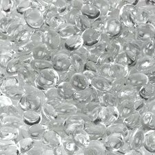 <strong>Wholesalers USA</strong> 5 lbs of  Glass Gems in Clear