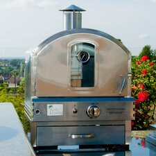 "22.8"" Outdoor Pizza Oven Gas Grill"