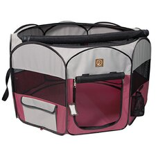 Portable Fabric Pet Playpen