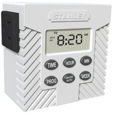 <strong>Stanley Electrical</strong> Weekly Digital Timer