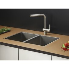 "30"" x 19"" Kitchen Sink with Faucet"