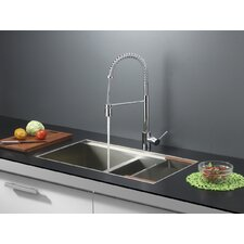 "<strong>Ruvati</strong> 33"" x 19"" Kitchen Sink with Faucet"