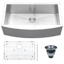 "Verona 36"" x 21"" Apron Front Single Bowl Kitchen Sink"