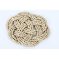 Latitude 38 Nautical Jute Rope Knot Trivet