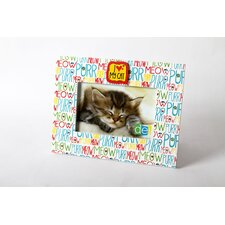 "<strong>DEI</strong> Mr. Snugs I Love My Cat ""Purr, Meow"" Picture Frame"