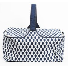 Latitude 38 Nautical Rope Insulated Picnic Basket