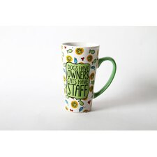 <strong>DEI</strong> Mr. Snugs Cat  Stoneware Latte Mug