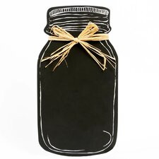 "Farm to Table Mason Jar Wall 1' 1.5"" x 7.25"" Chalkboard"