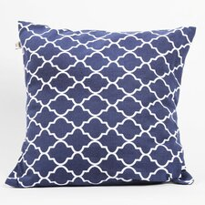 Latitude 38 Nautical Medallion Cotton Pillow