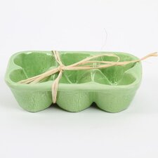 Farm to Table Ceramic Egg Carton