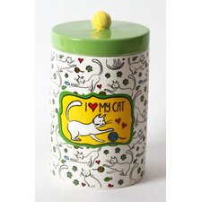 Mr. Snugs  Cat Treat Jar