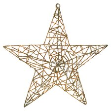 Spun Glitter 20 Light LED Star