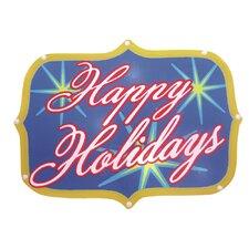 Happy Holidays Show Sign 20 Light LED Light
