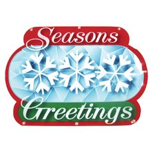 Seasons Greetings Show Sign 20 Light LED Light