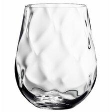 Dizzy Diamond Stemless Wine Glass