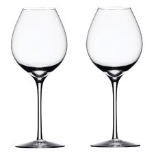 <strong>Orrefors</strong> Difference Crisp Wine Glass (Set of 2)