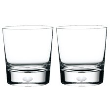 <strong>Orrefors</strong> Intermezzo Satin Dof Glass (Set of 2)