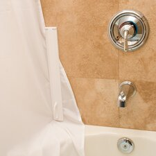 Magnetic Shower Curtain Sealing System