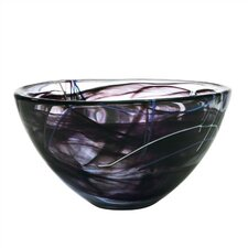 Contrast Large Black Bowl