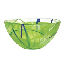 <strong>Kosta Boda</strong> Contrast Small Lime Bowl