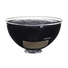 Satellite Large Black Bowl