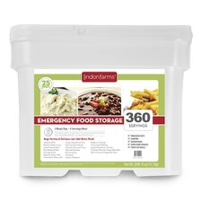 360 Meals Emergency Food Storage