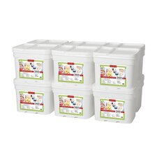 360 Meals Emergency Food Storage (Set of 12)