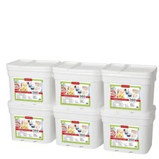 360 Meals Emergency Food Storage (Set of 6)