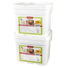360 Meals Emergency Food Storage (Set of 2)
