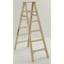 4.1' Tradesman Double Front Step Ladder