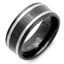 <strong>Steeltime</strong> Stainless Steel Band Ring