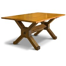 Cross Beam Dining Table