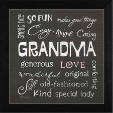 Grandma Love Wall Art