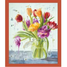 Tulips Framed Painting Print