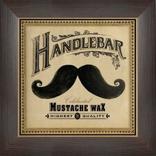Mustache Wax Wall Art
