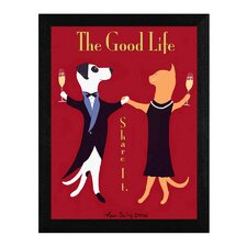 The Good Life Framed Graphic Art
