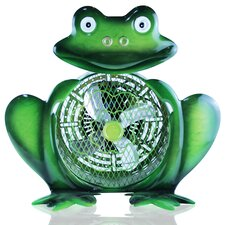 Himalayan Breeze Medium Decorative Frog Fan