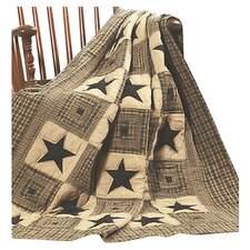 <strong>IHF Home Decor</strong> Vintage Star Cotton Quilted Throw