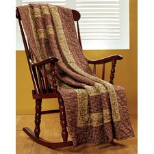 Checkerberry Cotton Quilted Throw