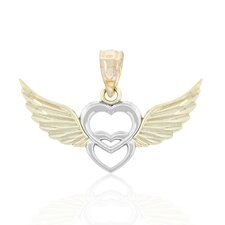 Heart in Heart with Wings Chaarm