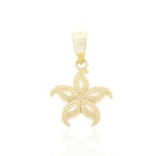 Small Beaded Starfish Charm