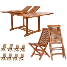 9 Piece Extension Dining Set